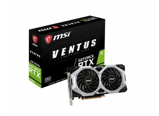 MSI GeForce RTX 2060 VENTUS 6G OC 6GB GDDR6 - Graphics Card