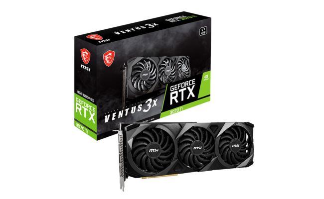MSI GeForce RTX™ 3070 Ti VENTUS 3X 8G GDDR6X OC - Graphics Card
