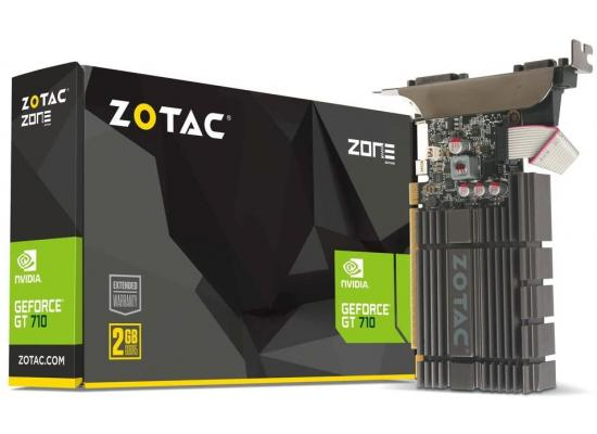 ZOTAC GT 710 2GB Zone Edition DDR3 - Graphics Card
