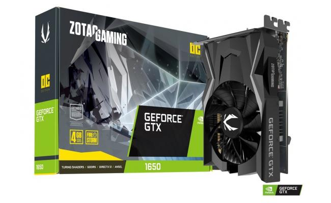 ZOTAC GAMING GeForce GTX 1650 OC 4GB GDDR5 - Graphics Card