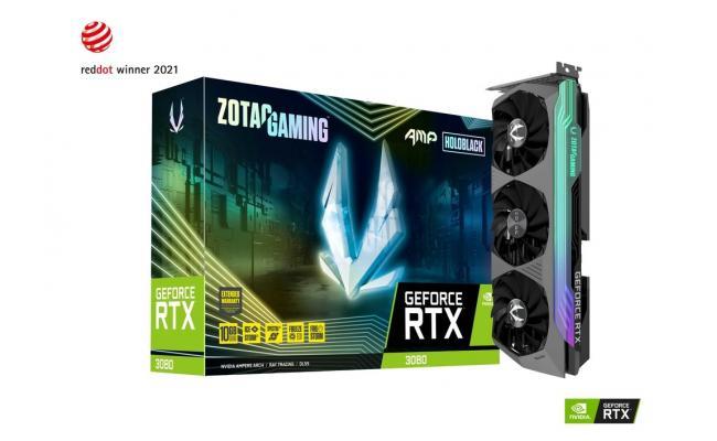 ZOTAC GAMING GeForce RTX 3080 AMP Holo 10GB GDDR6X (LHR) - Graphics Card