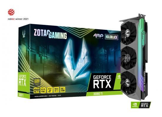ZOTAC GAMING GeForce RTX 3080 Ti AMP Holo 12GB GDDR6X (LHR) - Graphics Card