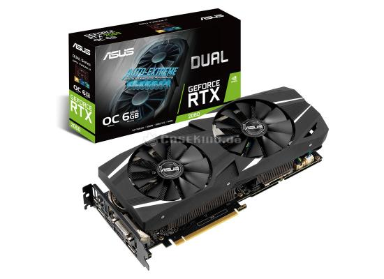 ASUS Dual GeForce RTX™ 2060 OC edition 6GB GDDR6