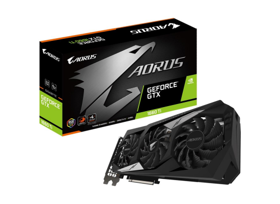 GIGABYTE AORUS GeForce® GTX 1660Ti 6GB