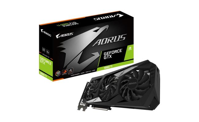 GIGABYTE AORUS GeForce® GTX 1660Ti 6GB