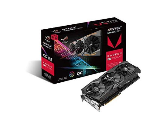 Asus ROG Strix RX VEGA64 OC edition 8GB with Aura Sync RGB for best VR & 4K gaming