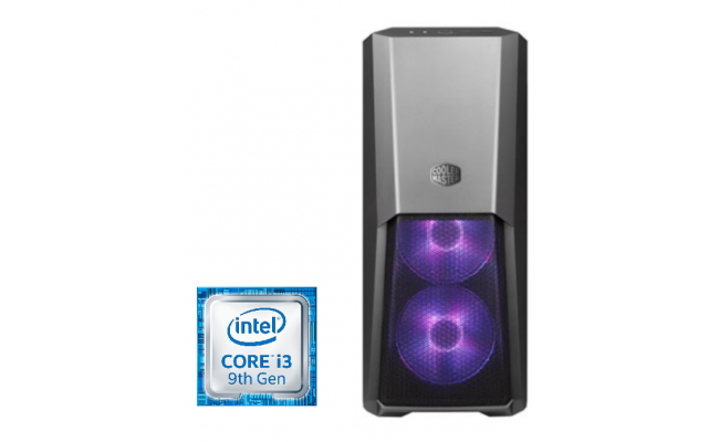 Intel® Core™ i3-9100F W/Asus PH GTX 1660 OC 6GB
