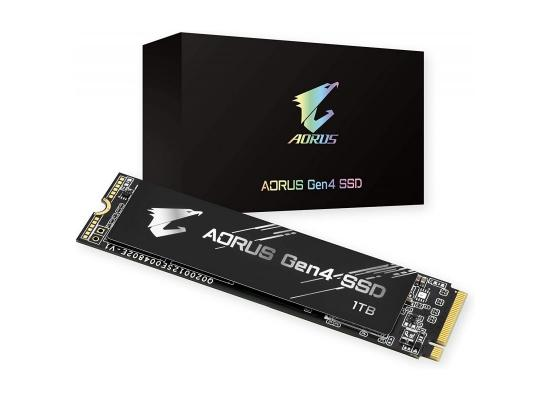 GIGABYTE AORUS NVMe Gen4 SSD M.2 500GB UP TO 5000 MB/s