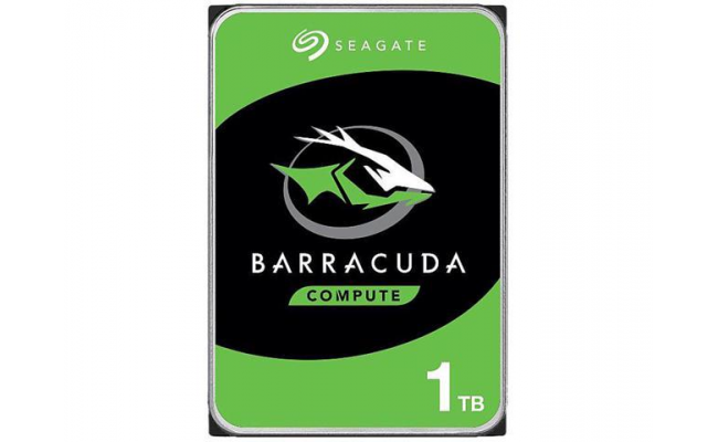 "Seagate BarraCuda 1TB 7200 RPM 64MB Cache SATA 6.0Gb/s 3.5"" Hard Drive"