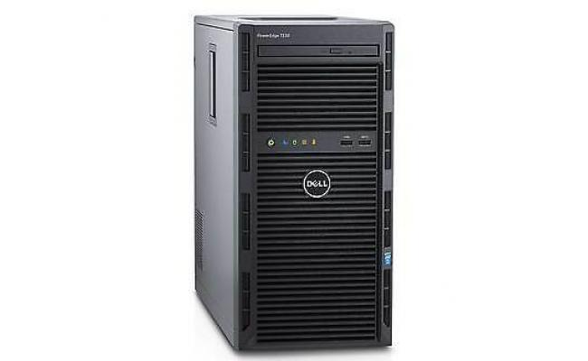 Dell PowerEdge T130 Server Intel Xeon E3-1220 v6 3.0GHz, 8M cache, 4C/4T, turbo (72W)