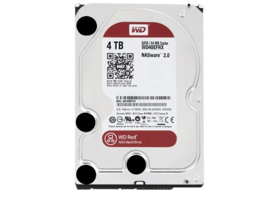 WD Red 4TB NAS Hard Disk Drive - 5400 RPM Class SATA 6 Gb/s 64MB Cache 3.5 Inch