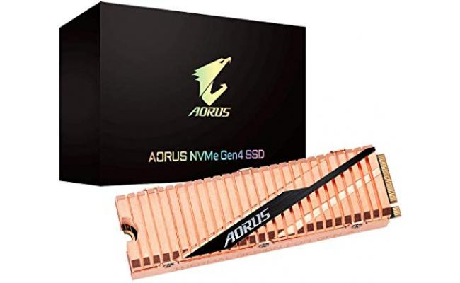 GIGABYTE AORUS M.2 NVMe Gen4 SSD With HeatSink 2TB UP TO 5000 MB/s