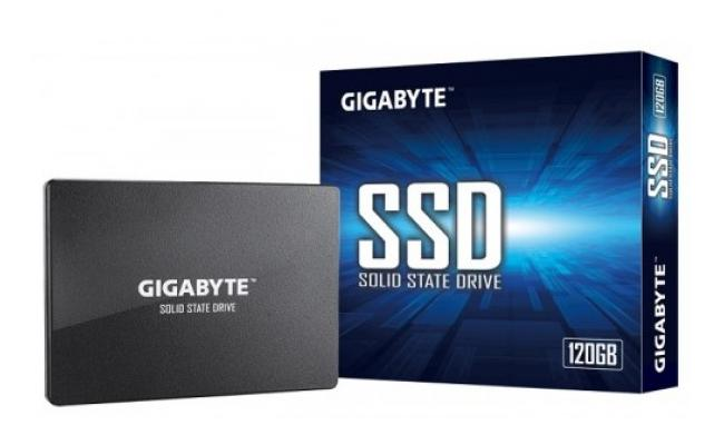 GIGABYTE SSD 120GB Read up to 520 MB/s - Write up to 380 MB/s