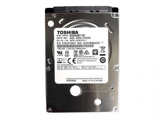 "Toshiba 1TB 5400RPM 2.5"" SATA 6Gb/s Laptop Hard Drive"
