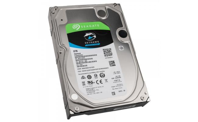 SEAGATE SkyHawk 8TB 7.2K RPM SATA Surveillance Hard Drive