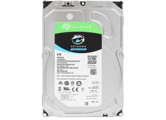SEAGATE SkyHawk 6TB 7.2K RPM SATA Surveillance Hard Drive