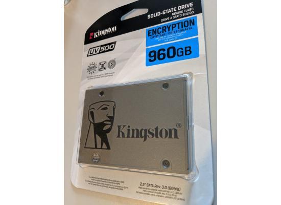 Kingston UV500 SSD 960GB SATA 3  2.5Inch