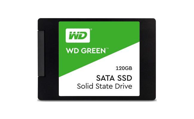 "WD Green SSD 120GB 2.5"" Internal Solid State Drive  545 MB/s Read"