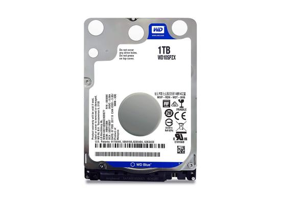 Western Digital Blue 1TB Mobile Hard Drive - 5400 RPM Class - SATA 6 Gb/s - 128 MB Cache - 2.5 Inch