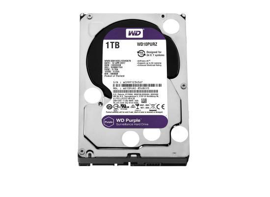 WD Purple 1TB Surveillance Hard Drive - 5400 RPM Class - SATA 6 Gb/s - 64 MB Cache - 3.5Inch