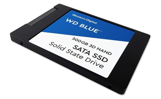 Western Digital Blue 500gb 3D NAND 500GB SATA III 6GB/s 2.5 - SSD