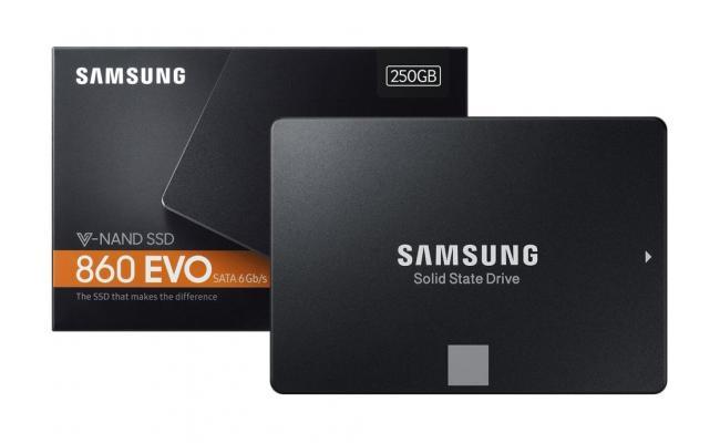 Samsung 860 EVO 250GB 2.5 inch SSD