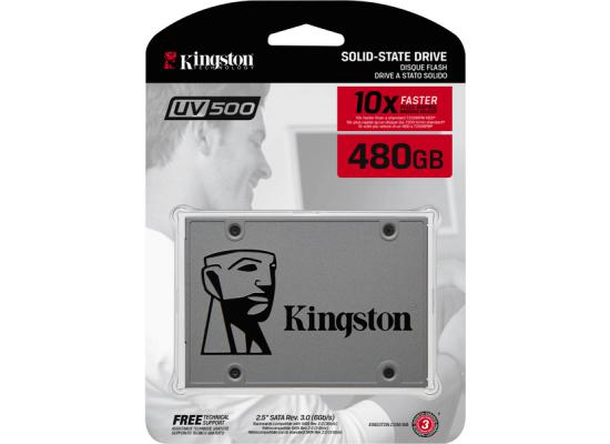Kingston UV500 SSD 480GB SATA 3 2.5 Inch