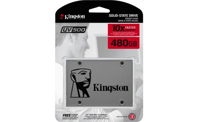 Kingston UV500 SSD 480GB SATA 3 2.5 Inch