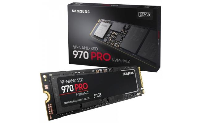 Samsung 970 PRO NVMe 512GB M.2 SSD