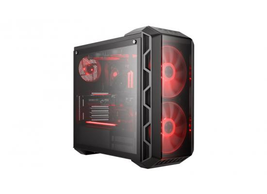 COOLER MASTER H500 Iron Gray Mid Tower Tempered Glass Gaming Case