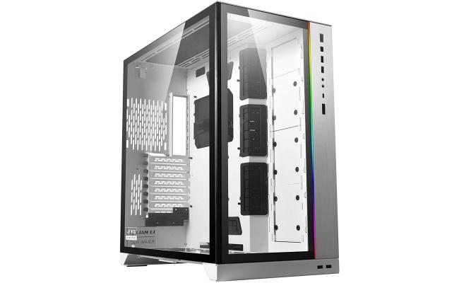 Lian Li O11 Dynamic XL ROG Certified (White) Mid Tower Tempered Glass Gaming Case