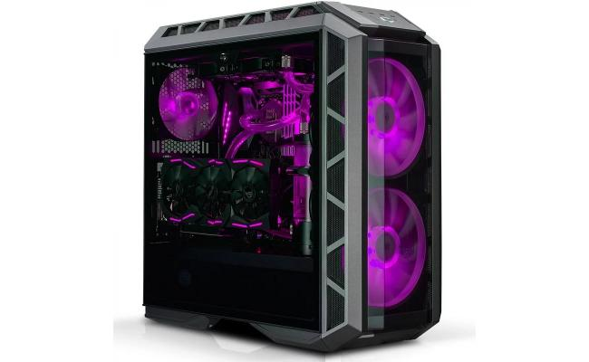 COOLERMASTER H500P RGB Mid tower Tempered Glass Gaming Case