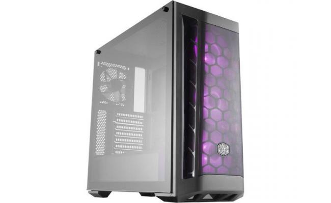 COOLER MASTER MASTERBOX MB511 RGB Mid Tower Tempered Glass Gaming Case