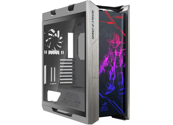 ASUS ROG STRIX Helios GX601 GUNDAM EDITION RGB, Mid-Tower Gaming Case With Tempered Glass, , Aluminum Frame