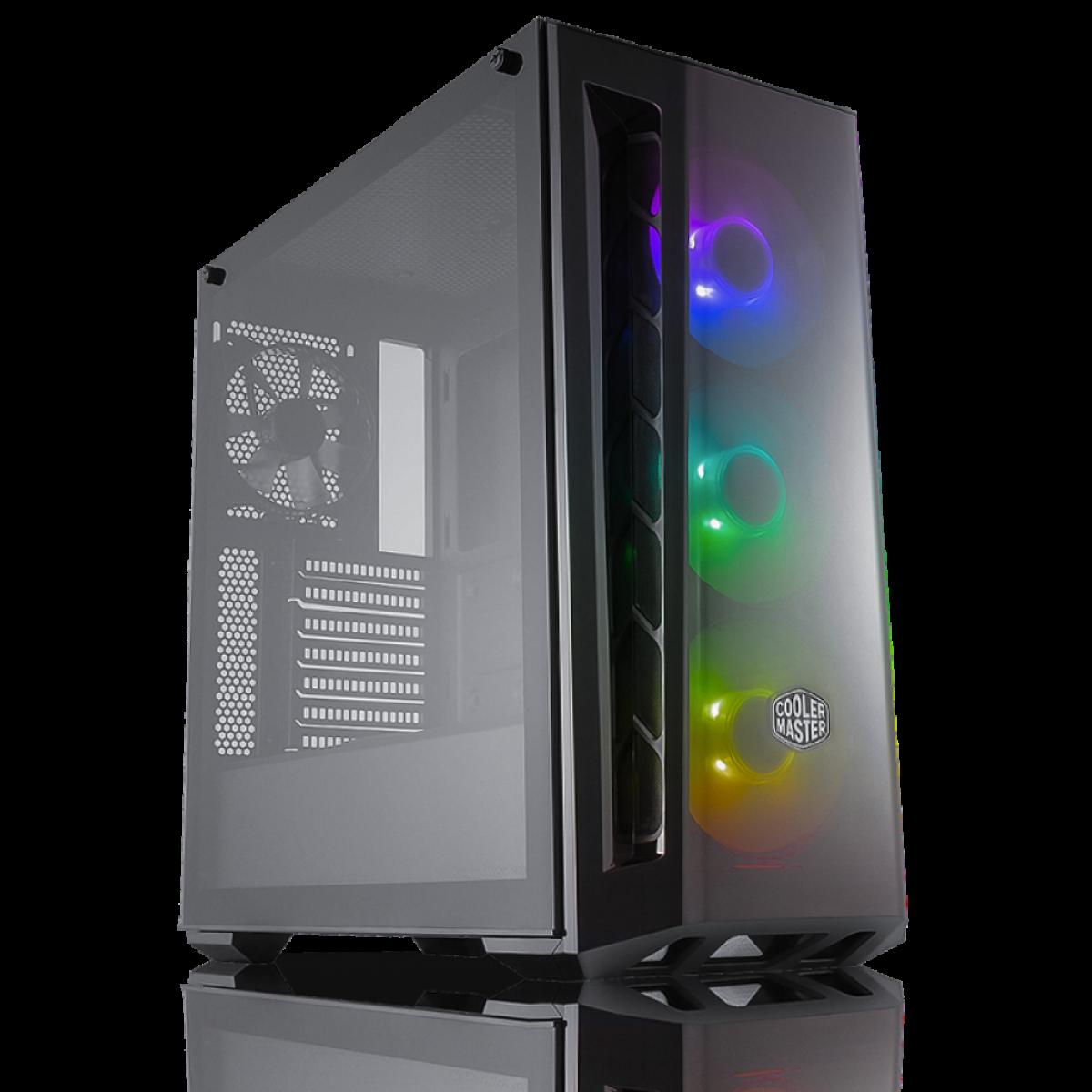 Cooler Master Masterbox Mb520 Rgb Gaming Case Mcb B520