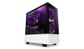 NZXT H510 ELITE MATTE WHITE RGB Lighting Tempered Glass Gaming Case