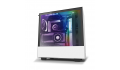 NZXT H510i MATTE WHITE Tempered Glass addressable LED strip Gaming Case