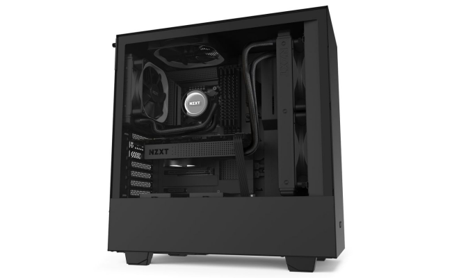 NZXT H510 MATTE BLACK Tempered Glass Gaming Case