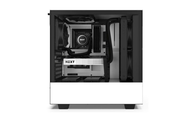 NZXT H510 MATTE WHITE Tempered Glass Gaming Case