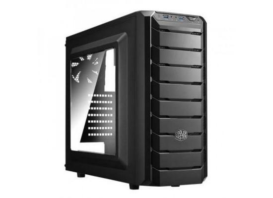 COOLER MASTER CMP500 RED LED EDITION + MWE 500W Gaming Case