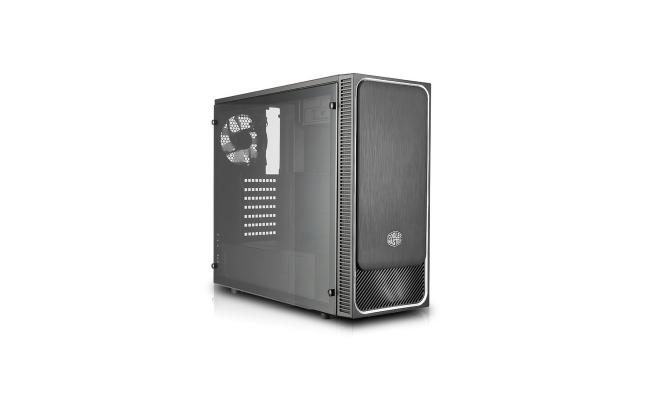 COOLER MASTER MasterBox E500L white fan Mid Tower Gaming Case