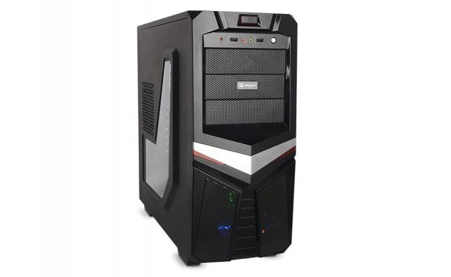 Mercury Fenix  Mid Tower Led Gaming Case