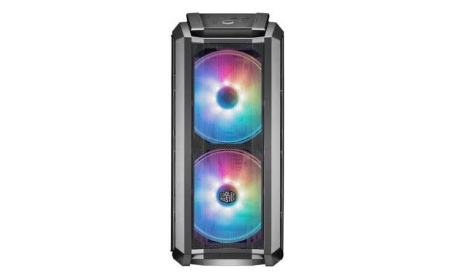 COOLERMASTER H500P Mesh Gray  ARGB Mid tower Tempered Glass Gaming Case