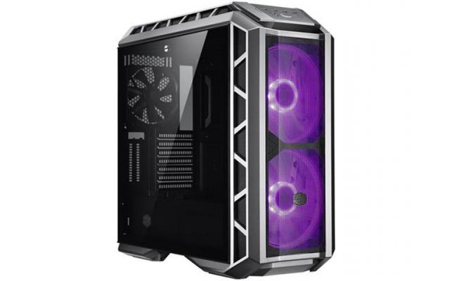 COOLERMASTER H500P Mesh Gray  RGB Mid tower Tempered Glass Gaming Case