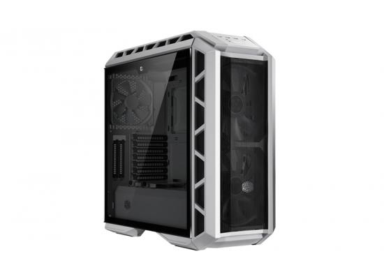 COOLER MASTER H500P Mesh White Mid Tower Tempered Glass Gaming Case