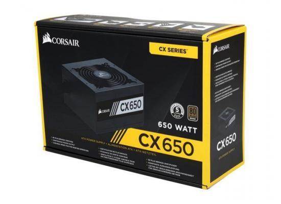 Corsair CX Series™ CX650M — 650W 80 PLUS® Bronze Certified Semi Modular ATX PSU