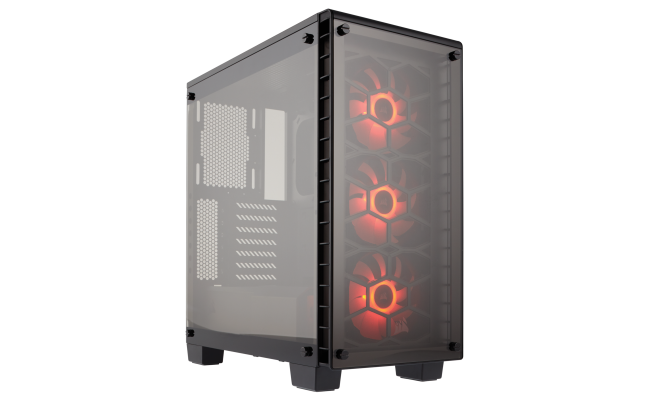 Corsair Crystal Series™ 460X RGB Compact ATX Mid-Tower Case