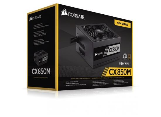Corsair CX Series™ CX850M — 850W 80 PLUS® Bronze Certified Semi Modular ATX PSU