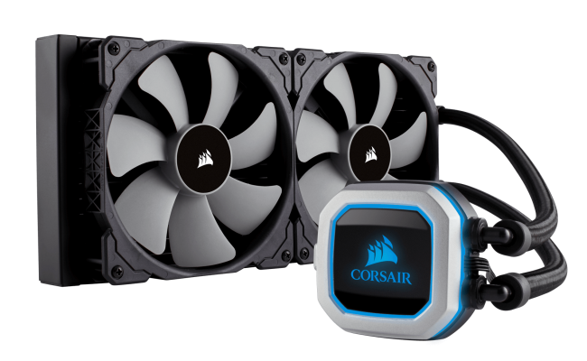Corsair Hydro Series™ H115i Pro Advanced RGB 280mm Liquid Cpu Cooler