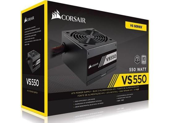 Corsair VS Series™ VS550 — 550W 80 PLUS® White Certified PSU (UK)